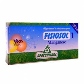 FISIOSOL 1 MANGANESO 20amp SPECCHIASOL Suplementos nutricionales 12,02€