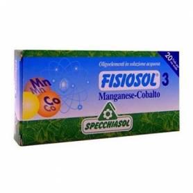 FISIOSOL 3 MANGANESO/ COBALTO 20amp SPECCHIASOL
