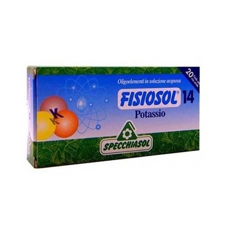 FISIOSOL 14 POTASIO 20amp SPECCHIASOL Suplementos nutricionales 12,02€