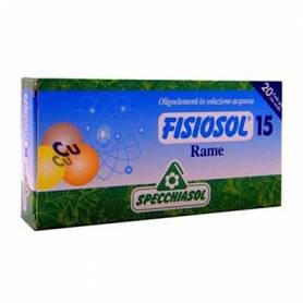 FISIOSOL 15 COBRE 20amp SPECCHIASOL Suplementos nutricionales 12,02€