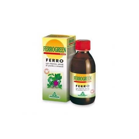 FERROGREEN PLUS JARABE 170ml SPECCHIASOL Suplementos nutricionales 12,02€