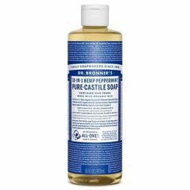 JABON DE CASTILLA LIQUIDO MENTA 473ml DR. BRONNER'S Cosmética e higiene natural 13,17€