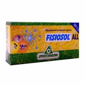 FISIOSOL ALL ALERGIAS 20amp SPECCHIASOL Suplementos nutricionales 12,02€