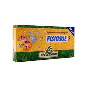FISIOSOL F GRIPE RESFRIADOS 20amp SPECCHIASOL Suplementos nutricionales 12,00€