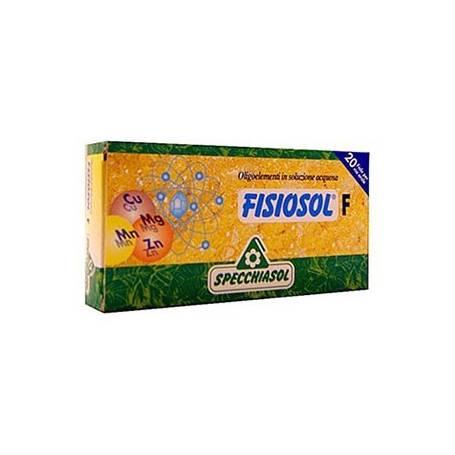 FISIOSOL F GRIPE RESFRIADOS 20amp SPECCHIASOL Suplementos nutricionales 12,15€