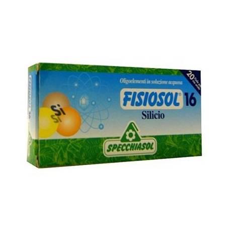 FISIOSOL 16 SILICIO 20amp SPECCHIASOL Suplementos nutricionales 12,02€