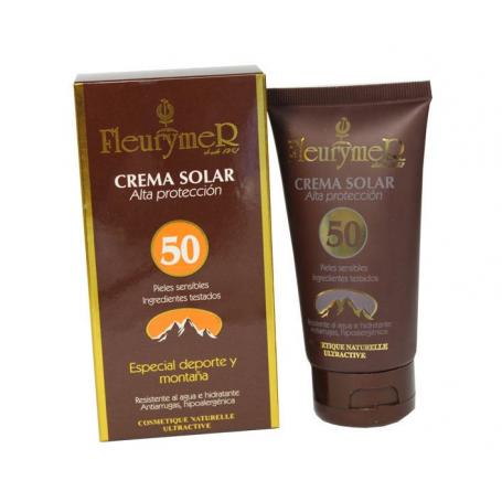 CREMA SOLAR FACIAL SPF50+ 80ml FLEURYMER Protección Solar 13,31€