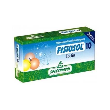 FISIOSOL 10 YODO 20amp SPECCHIASOL Suplementos nutricionales 12,02€