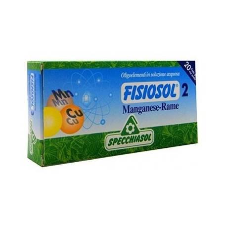 FISIOSOL 2 MANGANESO/ COBRE 20amp SPECCHIASOL Suplementos nutricionales 12,02€