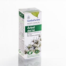 Aceite esencial de árbol de té bio 10ml ESENTIAL AROMS Cosmética e higiene natural 11,99€