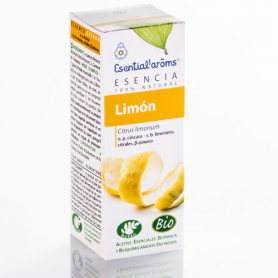 ACEITE ESENCIAL DE LIMON BIO 10ml ESENTIAL AROMS Cosmética e higiene natural 11,65€