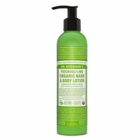LECHE CORPORAL PACHULI LIMA 240ml DR. BRONNER'S