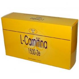 L-CARNITINA 1500mg 30amp ZEUS L Carnitina 42,08€