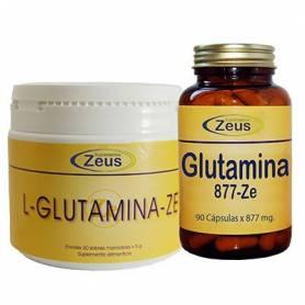 L-GLUTAMINA 877mg 90cap ZEUS L Glutamina 32,59€