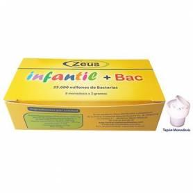 INFANTIL+BAC PROBIOTICOS 8ud ZEUS Suplementos nutricionales 25,65€
