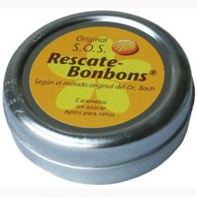 BACH SOS BOMBONES REMEDIO URGENCIA 50g NATURE'S PLUS Plantas Medicinales 5,05€