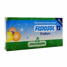 FISIOSOL 12 FOSFORO 20amp SPECCHIASOL Suplementos nutricionales 12,15€
