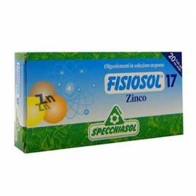 FISIOSOL 17 ZINC 20amp SPECCHIASOL Suplementos nutricionales 12,02€