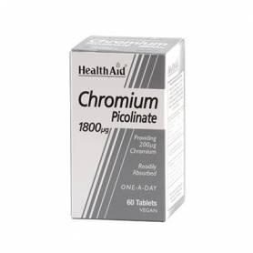 CROMO PICOLINATO 60comp HEALTH AID Suplementos nutricionales 12,34€