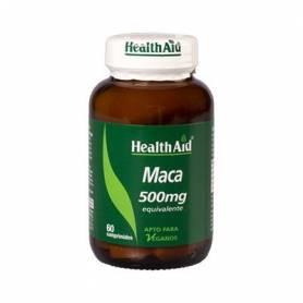 MACA 500mg 60comp HEALTH AID Plantas Medicinales 14,74€