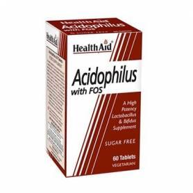 ACIDOPHILUS CON FOS 60comp HEALTH AID Suplementos nutricionales 14,76€