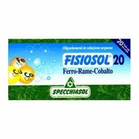 FISIOSOL 20 HIERRO/ COBRE/ COBALTO 20amp SPECCHIASOL