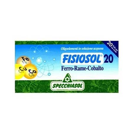 FISIOSOL 20 HIERRO/ COBRE/ COBALTO 20amp SPECCHIASOL Suplementos nutricionales 12,02€