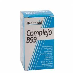 COMPLEJO B99 60comp HEALTH AID Suplementos nutricionales 17,74€