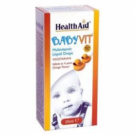 BABYVIT GOTAS 25ml HEALTH AID Suplementos nutricionales 10,93€