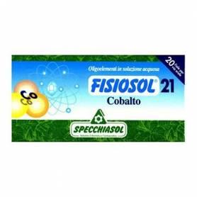 FISIOSOL 21 COBALTO 20amp SPECCHIASOL Suplementos nutricionales 12,02€