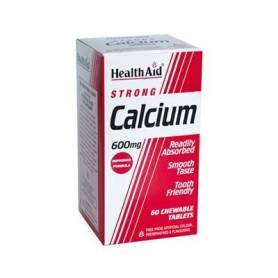 CALCIO 600mg MASTICABLE 60comp HEALTH AID Suplementos nutricionales 11,78€