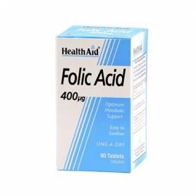 ACIDO FOLICO 400mcg 90comp HEALTH AID Ácido Fólico 7,93€