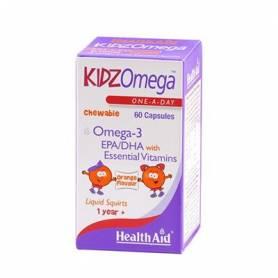 KIDZOMEGA MASTICABLE 60comp HEALTH AID Suplementos nutricionales 19,38€