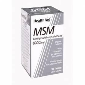 MSM 1000mg 90comp HEALTH AID Suplementos nutricionales 21,44€