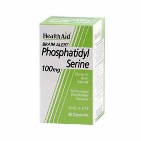 BRAIN ALERT FOSFATIDILSERINA 100mg 30cap HEALTH AID Suplementos nutricionales 37,90€