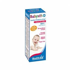 BABYVIT D GOTAS 50ml HEALTH AID Suplementos nutricionales 15,19€