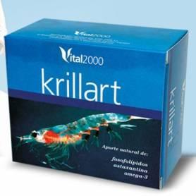 KRILLART ACEITE KRILL 60perl VITAL 2000 Suplementos nutricionales 28,72€