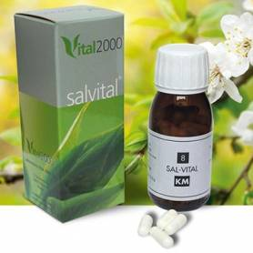 SALVITAL 12 CALCAREA PHOSPHORICA 50cap VITAL 2000 Suplementos nutricionales 11,35€