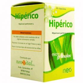 PHYTOGRANULOS HIPERICO 45cap NEO Plantas Medicinales 10,54€