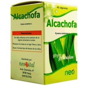 PHYTOGRANULOS ALCACHOFA 45cap NEO Plantas Medicinales 10,54€