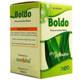 PHYTOGRANULOS BOLDO 45cap NEO Plantas Medicinales 10,54€