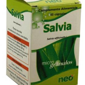 PHYTOGRANULOS SALVIA 45cap NEO Plantas Medicinales 10,60€