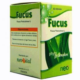 PHYTOGRANULOS FUCUS 45cap NEO Plantas Medicinales 10,54€