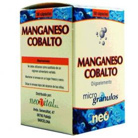 MICROGRANULOS MANGANESO COBALTO 50cap NEO Suplementos nutricionales 15,52€