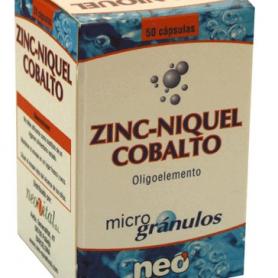 MICROGRANULOS ZINC NIQUEL COBALTO 50cap NEO Suplementos nutricionales 14,09€