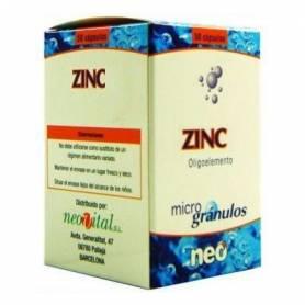 MICROGRANULOS ZINC 50cap NEO Suplementos nutricionales 13,48€