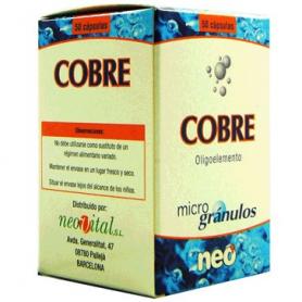 MICROGRANULOS COBRE 50cap NEO Suplementos nutricionales 13,47€
