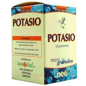 MICROGRANULOS POTASIO 50cap NEO Suplementos nutricionales 13,47€