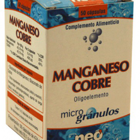 MICROGRANULOS MANGA COBRE 50cap NEO Suplementos nutricionales 15,52€