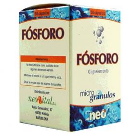 MICROGRANULOS FOSFORO 50cap NEO Suplementos nutricionales 13,55€